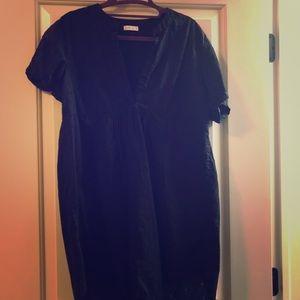 Black tunic top